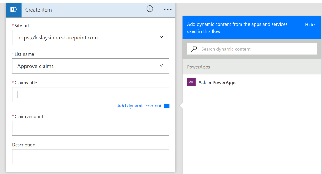 Microsoft PowerApps and Flow together #SharePoint #Office365